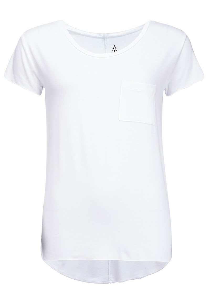 2nd Day Clean Short Sleeve Tee - White main image