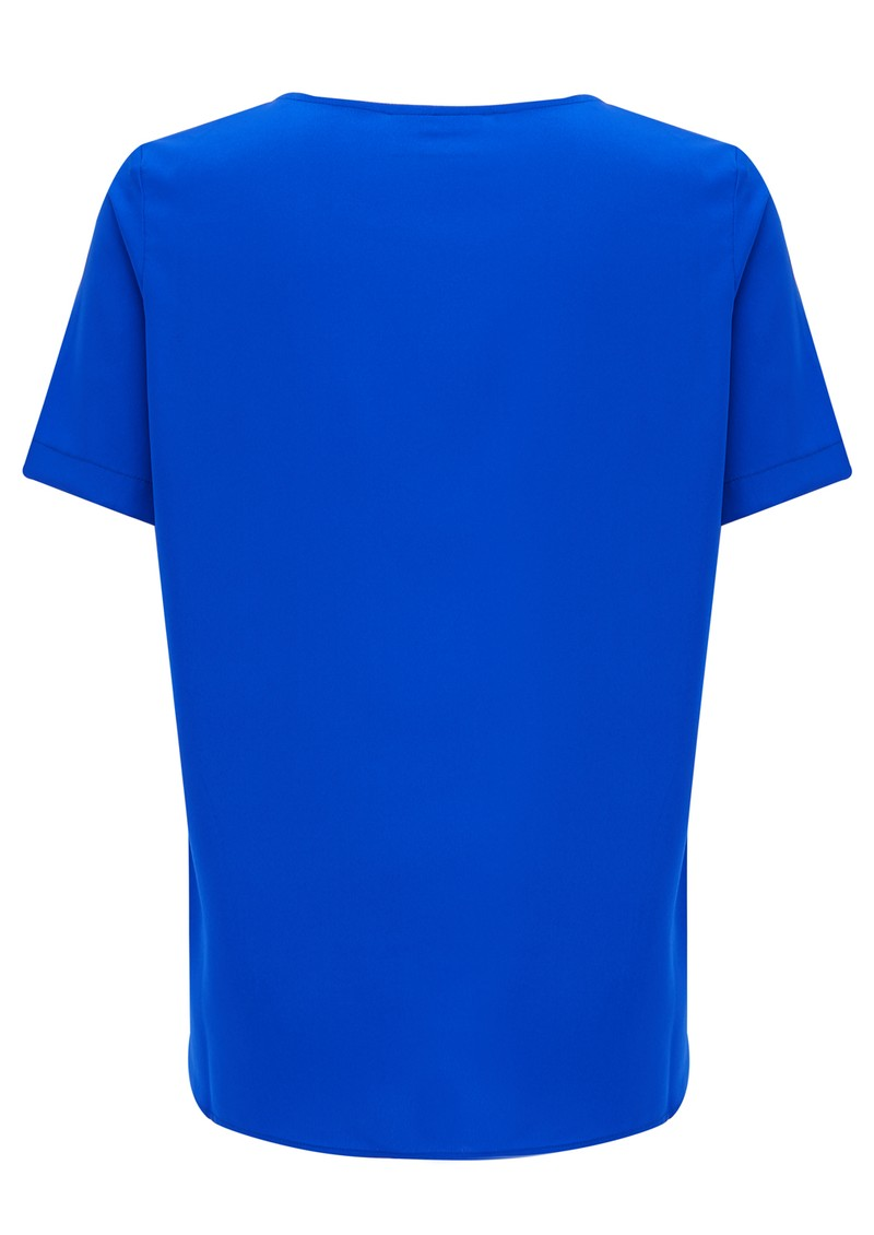 Pyrus Marla Short Sleeve Top - Neon Blue main image