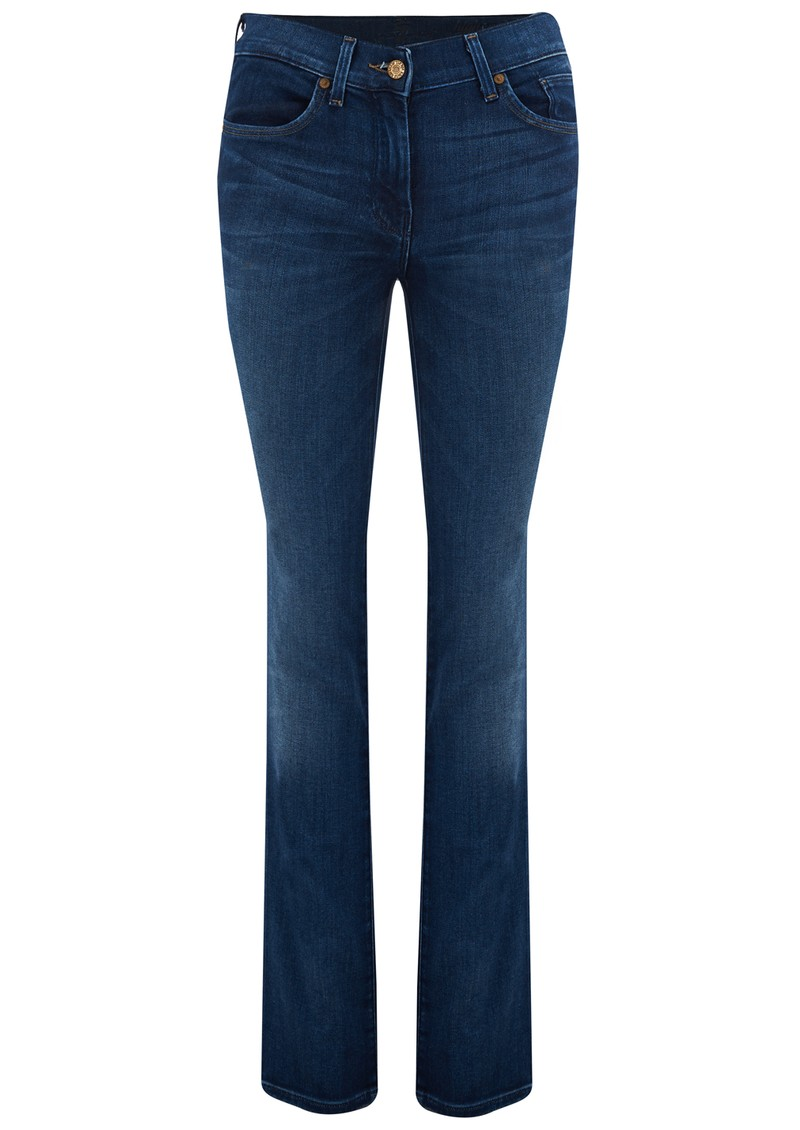 HIGHT WAIST STRAIGHT LEG JEANS - PACIFIC SHADOWS main image