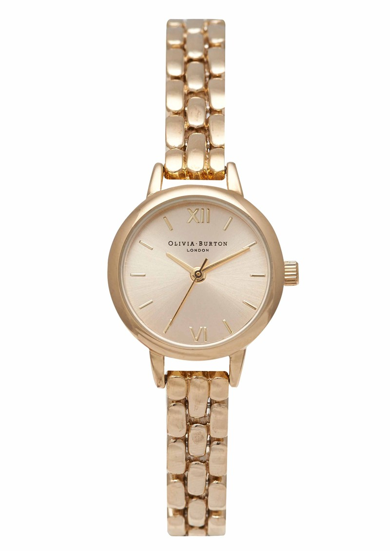 Olivia Burton Mini Dial Bracelet Watch - Gold main image