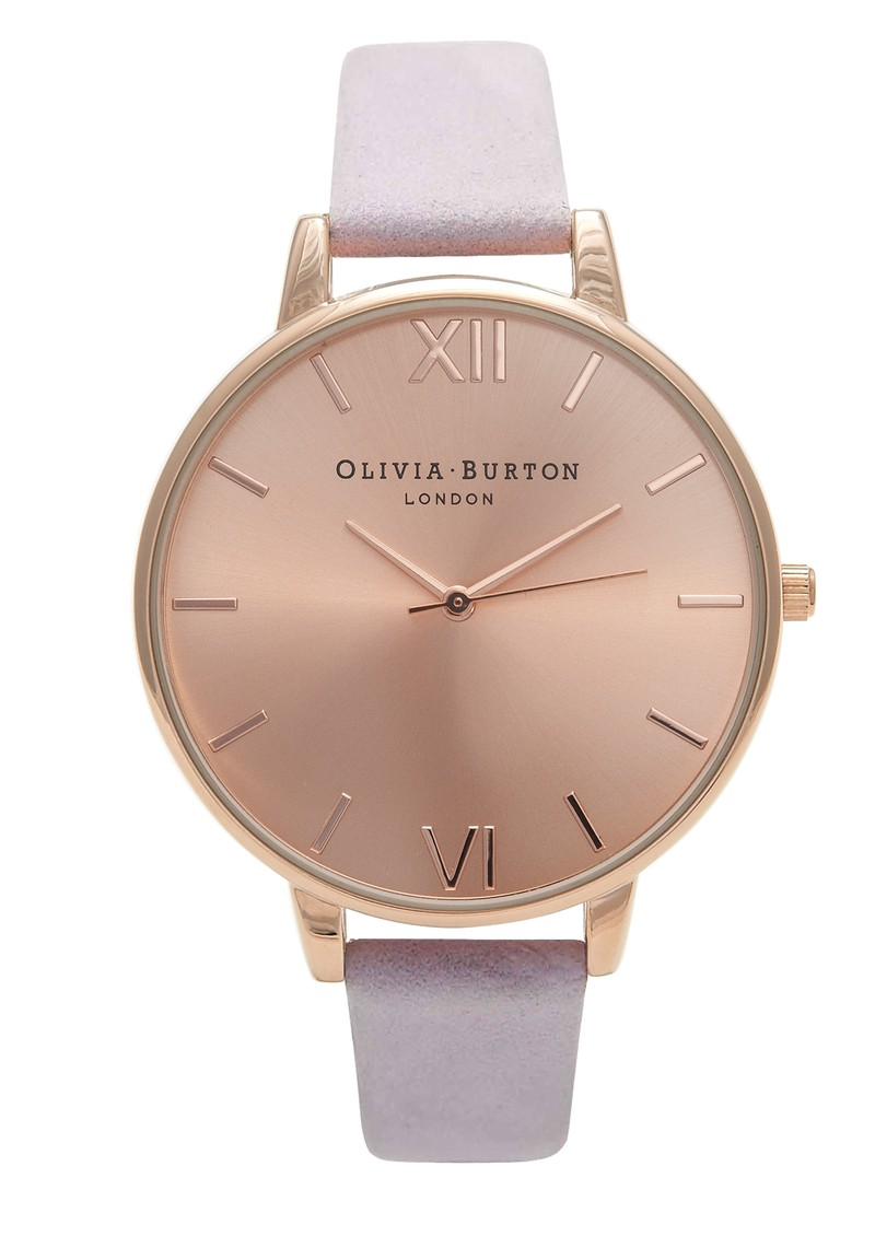 Olivia Burton Big Dial Watch - Rose Gold & Lilac main image
