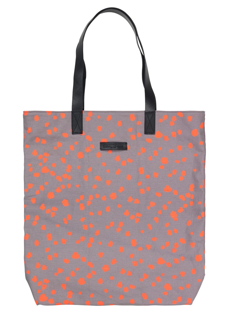 Becksondergaard L-Tote Animal Dot Cotton Bag - Mouse main image