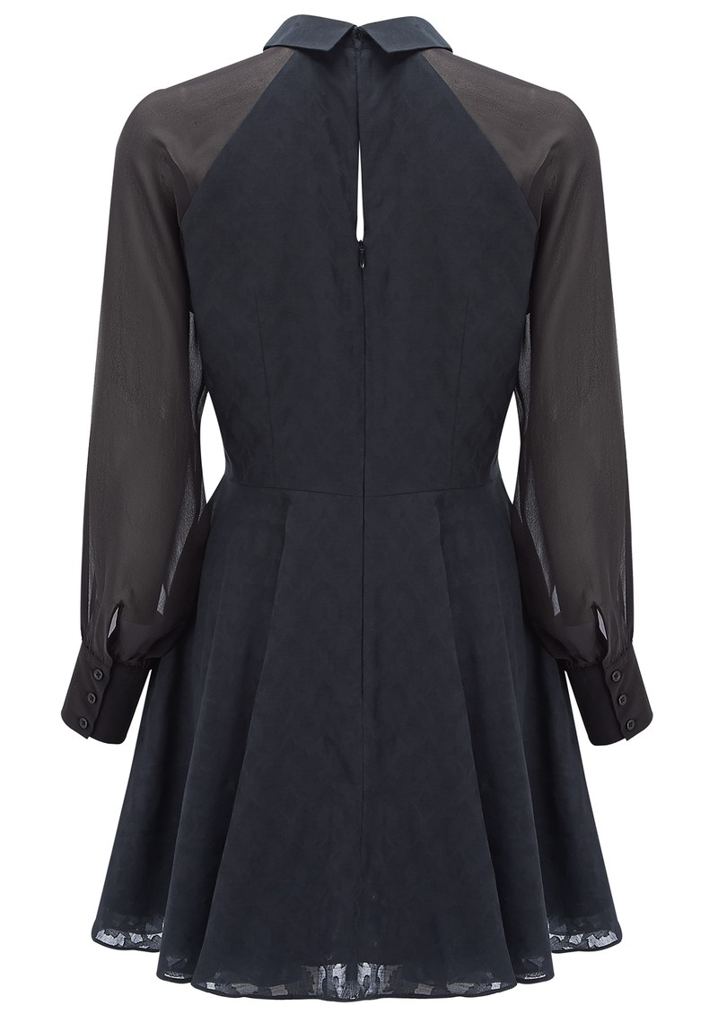 Robette Cotton Mix Shirt Dress - Navy main image