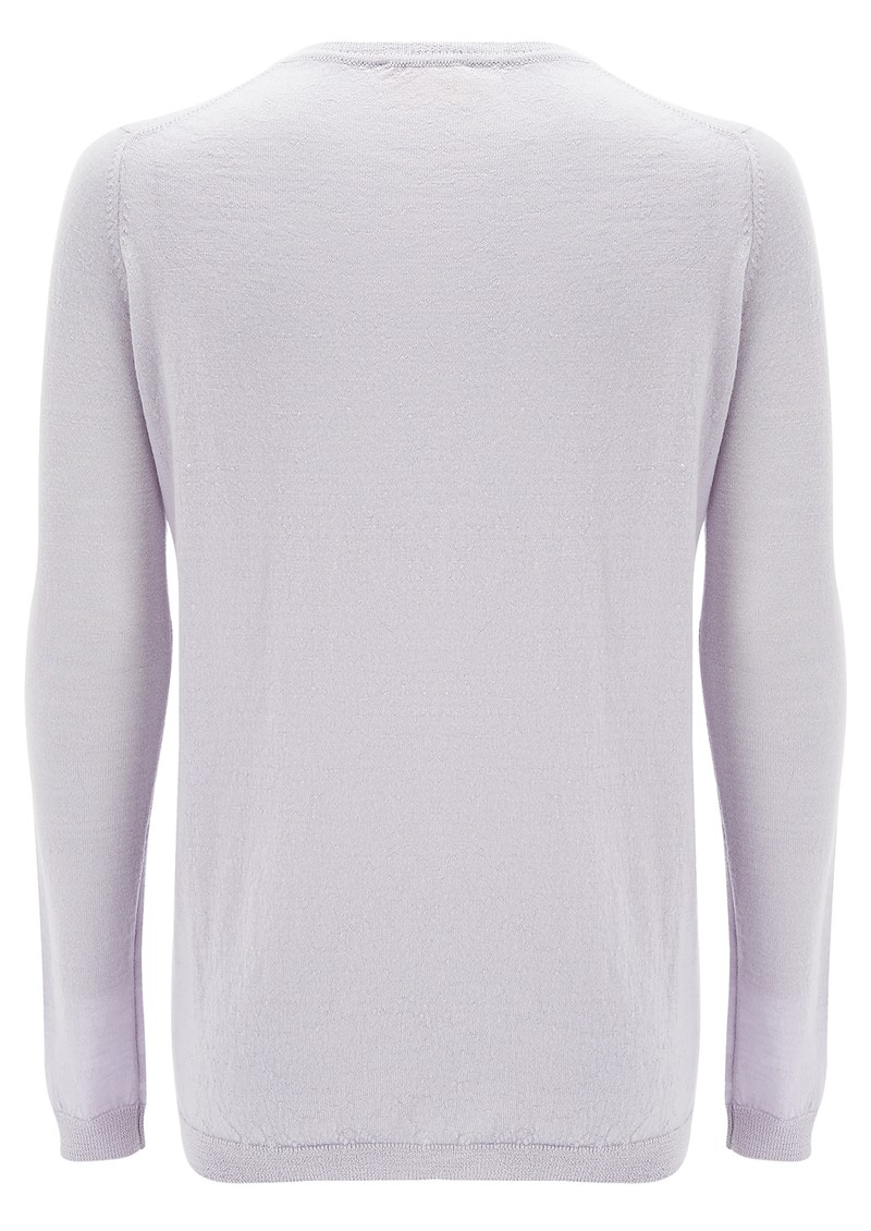 IRON LONG SLEEVE PULLOVER - LAVENDER main image