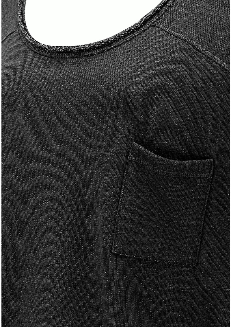 American Vintage CLOVER DOLE SWEATER - CARBON MELANGE main image