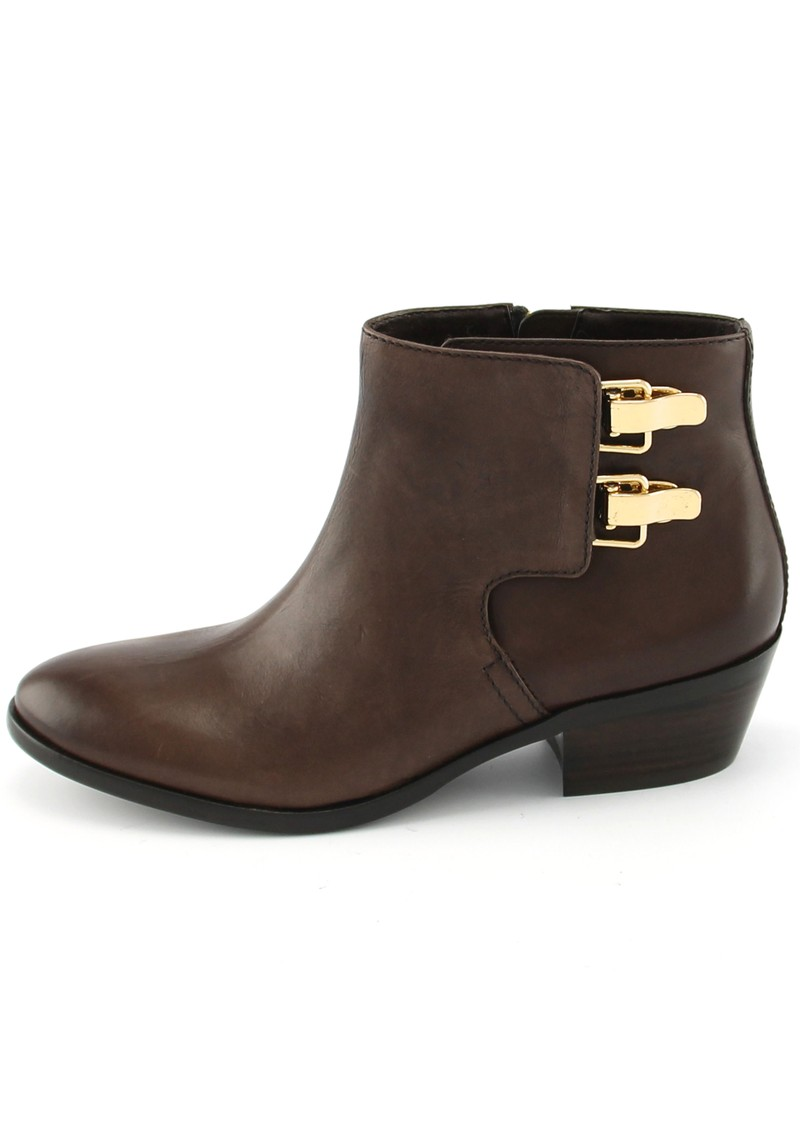 PETER LEATHER ANKLE BOOT - BROWN main image