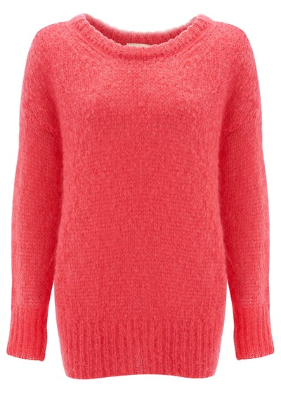 American Vintage OWATONNA MOHAIR PULLOVER - PINK main image