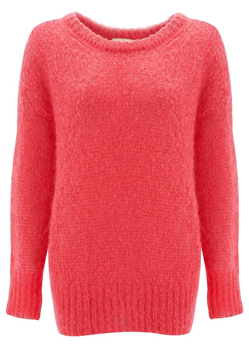 OWATONNA MOHAIR PULLOVER - PINK main image