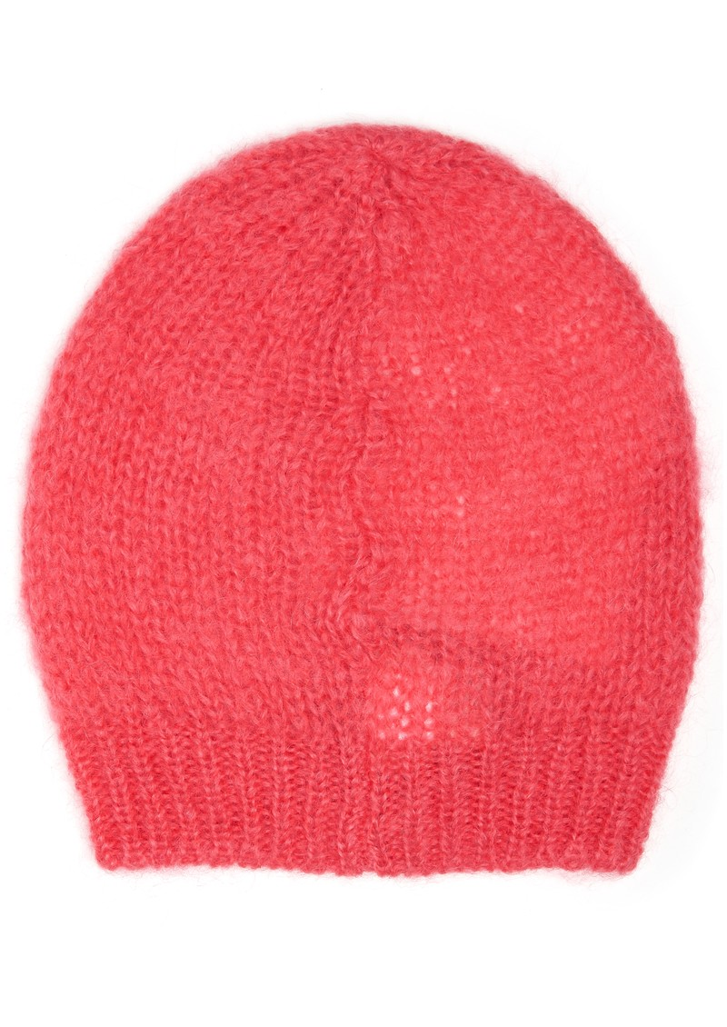 American Vintage OWATONNA MOHAIR BEANIE HAT - PINK main image
