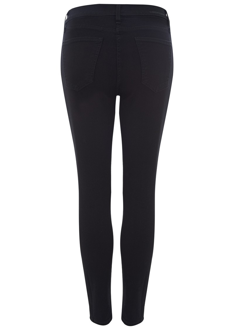 Current/Elliott HIGH WAIST STILETTO JEAN - JET BLACK main image