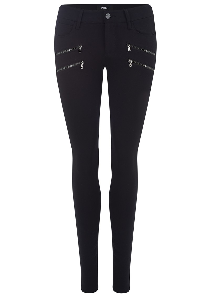 Paige Denim EDGEMONT SKINNY PANT - BLACK main image