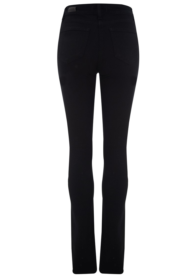 Paige Denim HOXTON STRAIGHT LEG JEANS - GLOSS main image