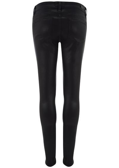 Paige Denim Verdugo Mid Rise Ultra Skinny Jeans - Black Silk main image
