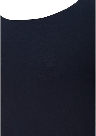 American Vintage Blossom Wool Mix Jumper - Navy main image