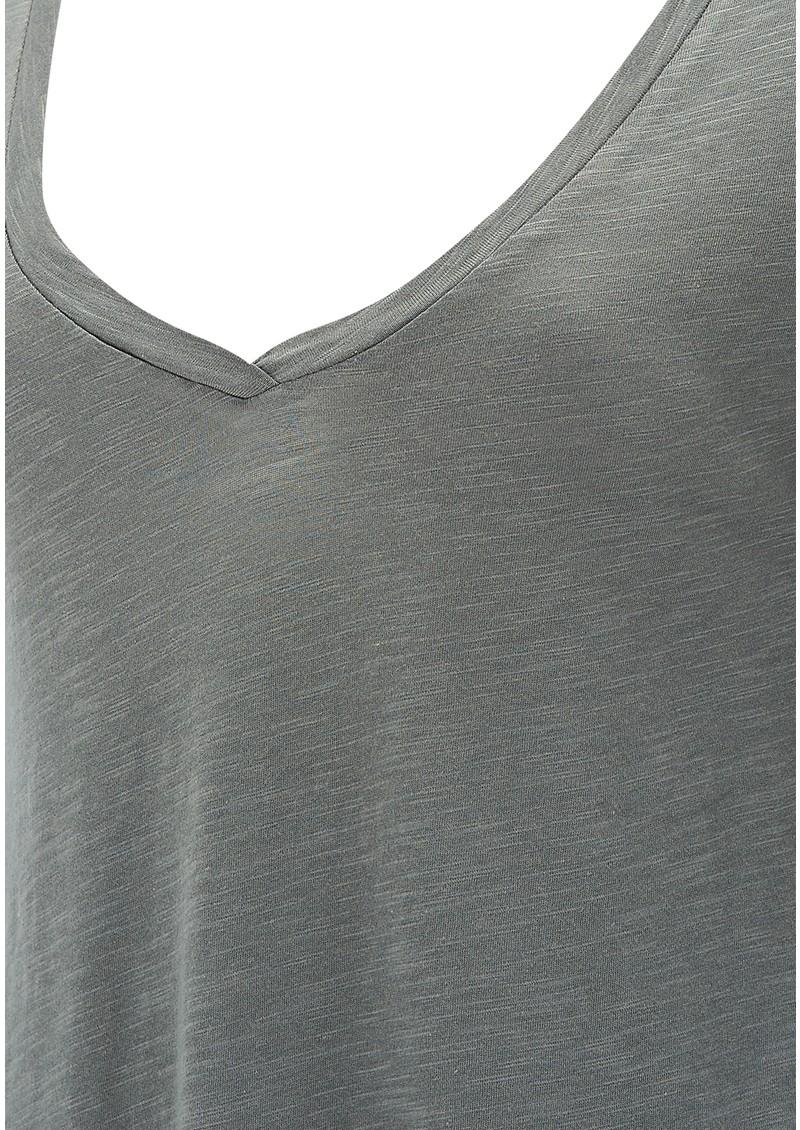 American Vintage Jacksonville Long Sleeve Tee - Grey main image