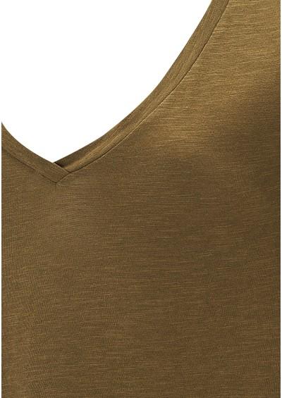 American Vintage Jacksonville Short Sleeve Tee - Khaki main image