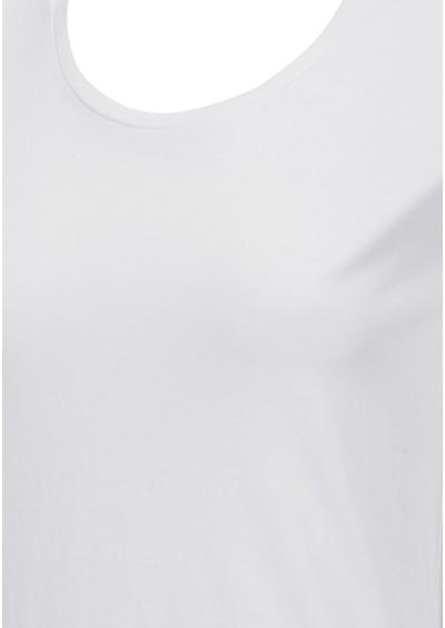 American Vintage Denver Short Sleeve Cotton Tee - White main image