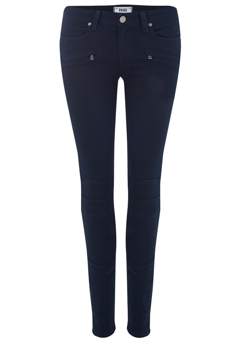 Paige Denim Ollie Ultra Skinny Jeans - Midnight Navy main image