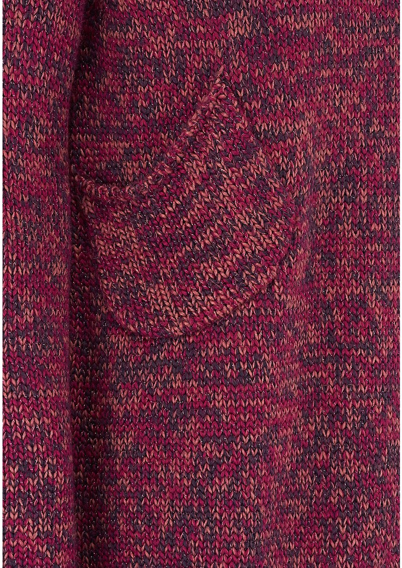 Twisted Muse DEVON KNIT JUMPER - PINK MARL main image