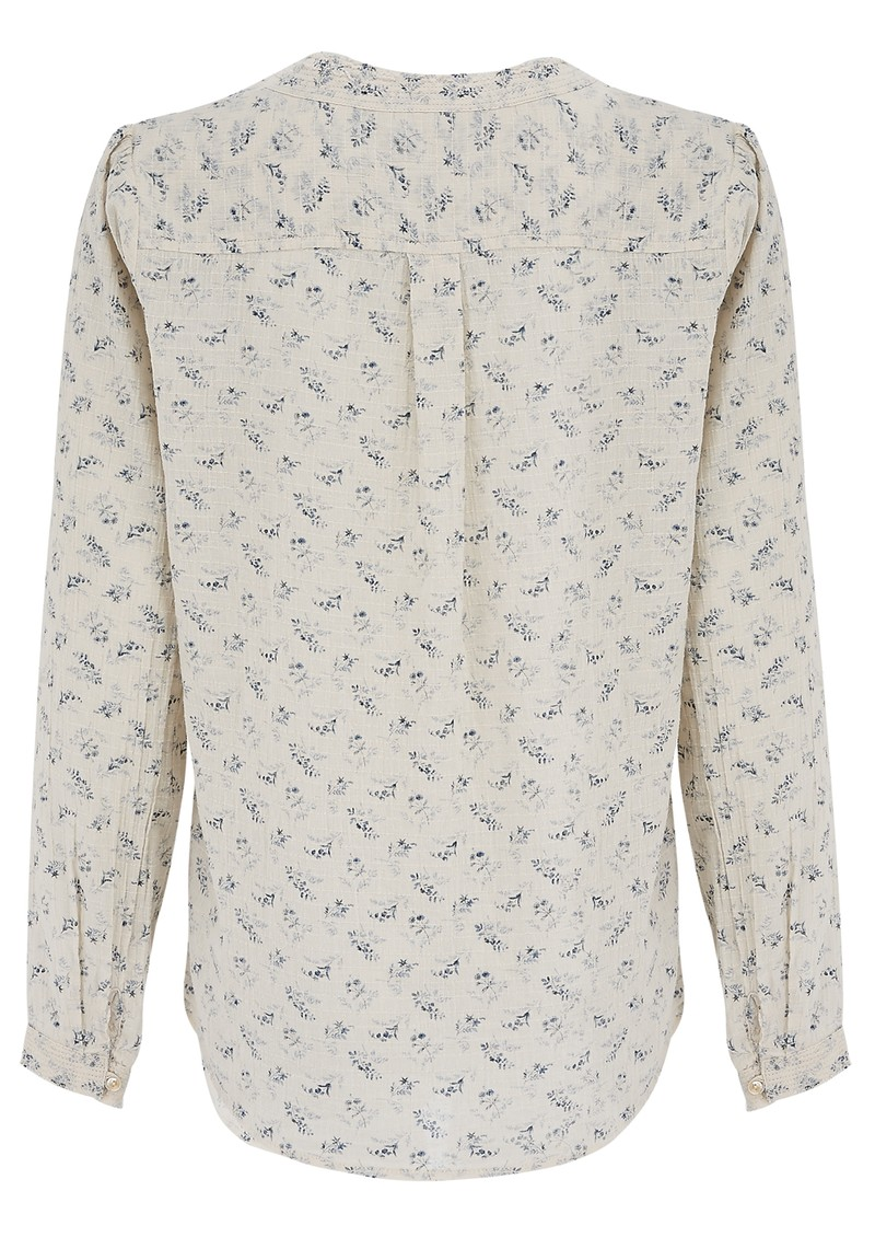 Maison Scotch FLORAL TEXTURED COTTON TUNIC - COMBO main image