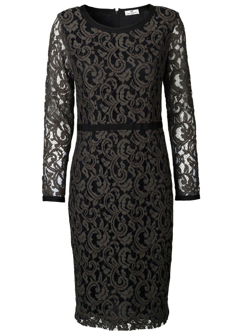 Day Birger et Mikkelsen  DAY WEAVE DRESS - UNBLACK main image