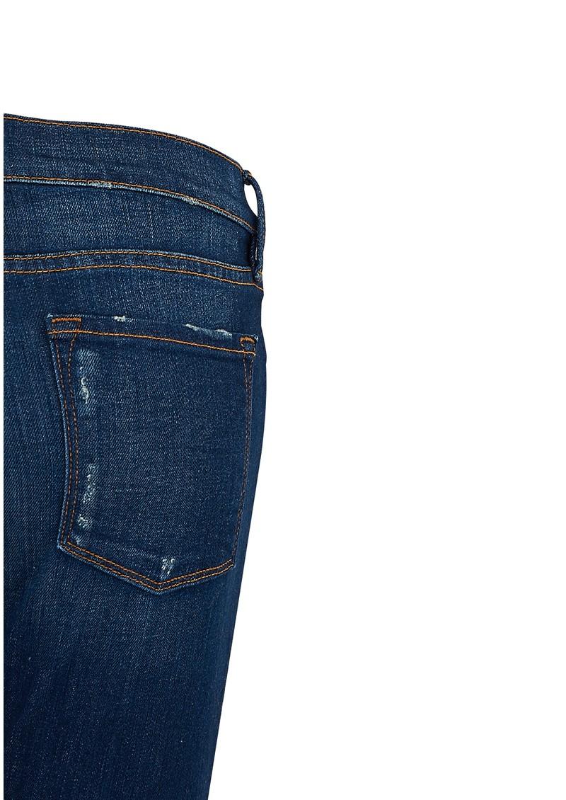 Frame Denim Le Garcon Mid Rise Slim Boyfriend Jeans - Belgrave main image