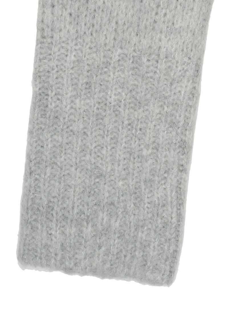 American Vintage BOOLDER KNIT SCARF - HEATHER GREY main image