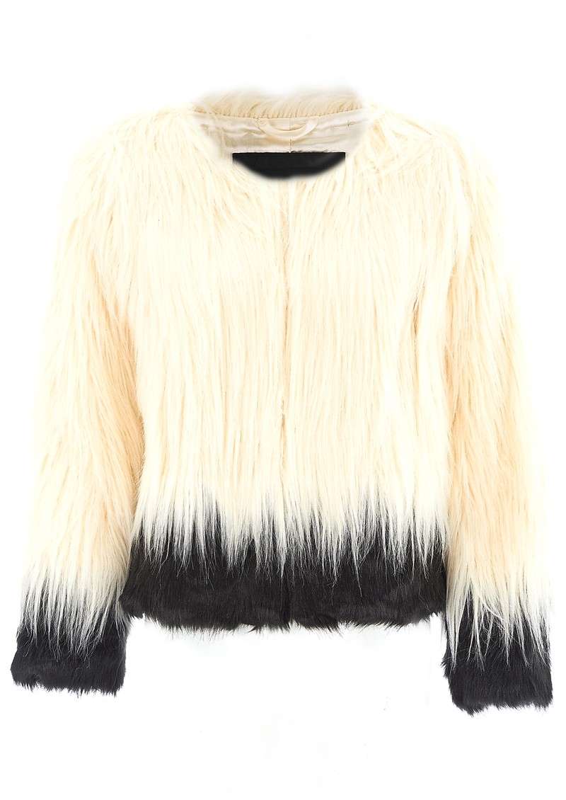 Unreal Fur FIRE & ICE JACKET - CREAM main image