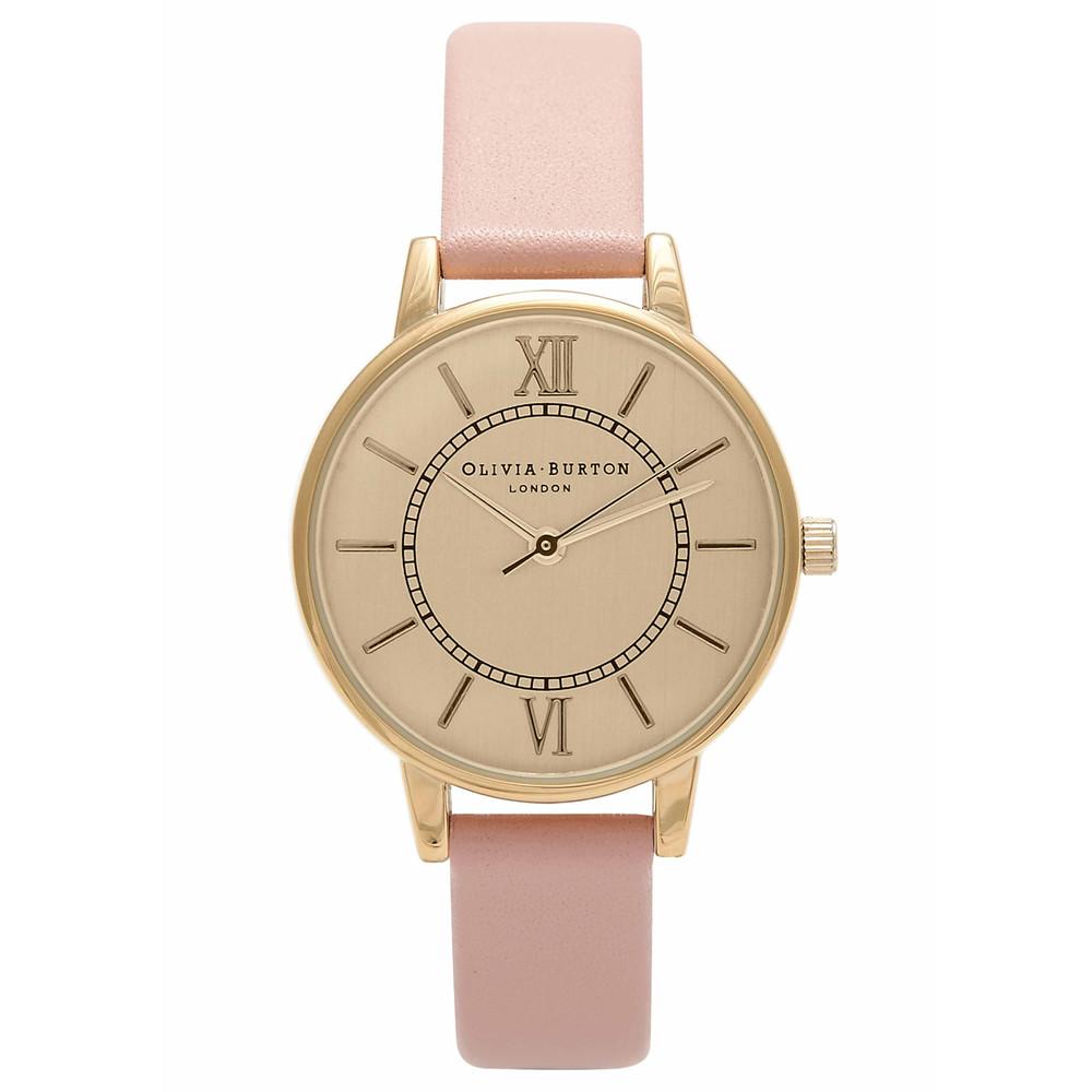 Wonderland Watch - Gold & Dusty Pink