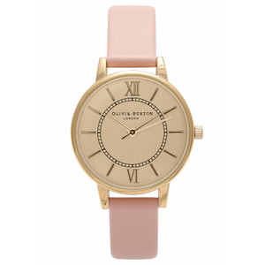 Wonderland Watch - Gold & Dusty Pink