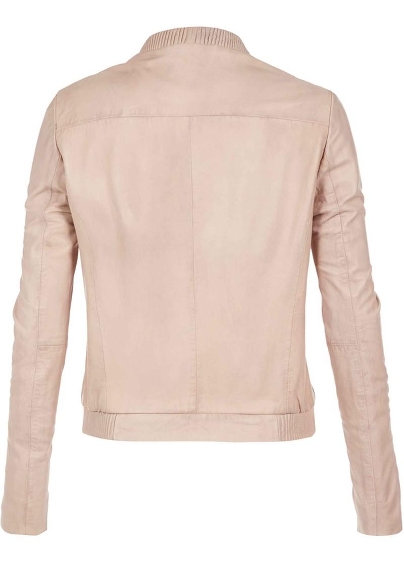 Muubaa Steenbras Leather Jacket - Nude main image
