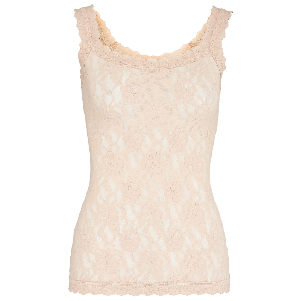 Unlined Lace Cami - Chai