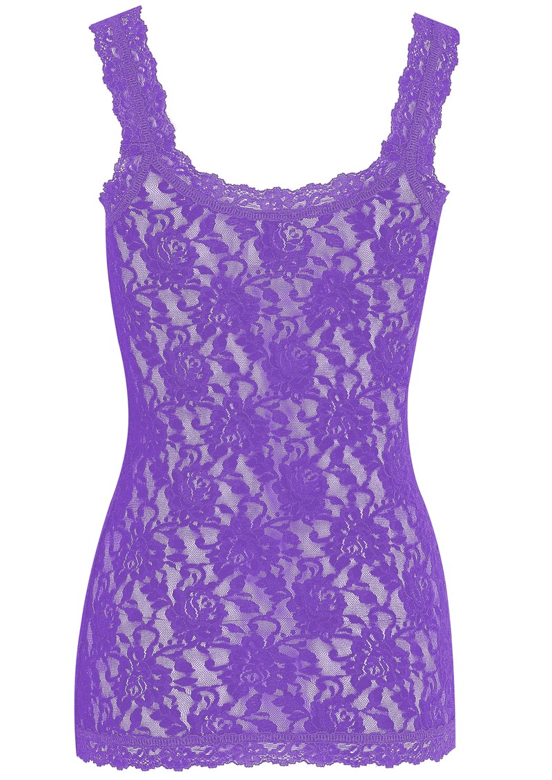 Hanky Panky UNLINED LACE CAMI - AFRICAN VIOLET main image