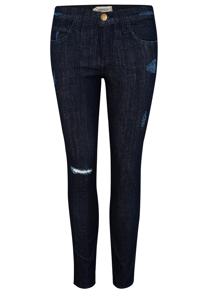 THE STILETTO DISTRESSED JEANS - RINSE DESTROY main image