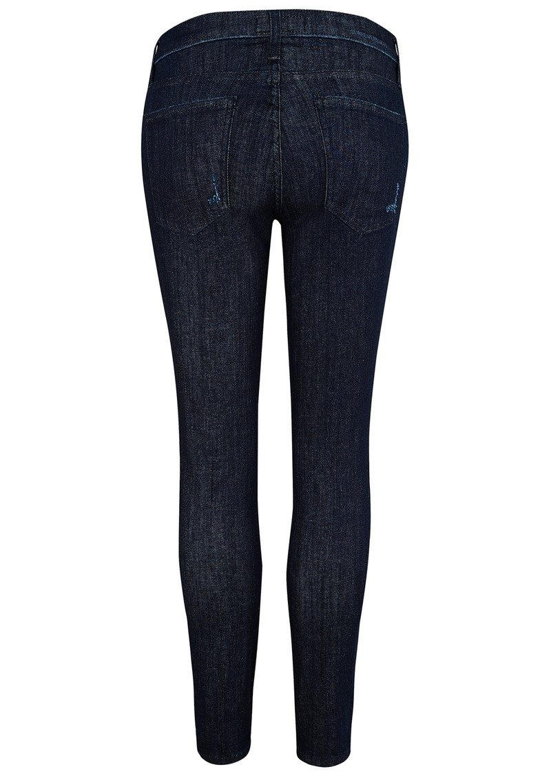 Current/Elliott THE STILETTO DISTRESSED JEANS - RINSE DESTROY main image