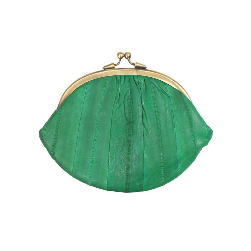 Granny Purse - Grass Green