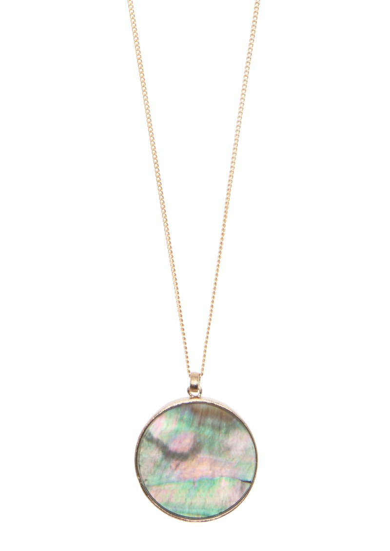 Lola Rose ROMIL NECKLACE - BLACK MOTHER OF PEARL main image