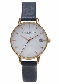 Olivia Burton THE DANDY MIDI DIAL WATCH - NAVY