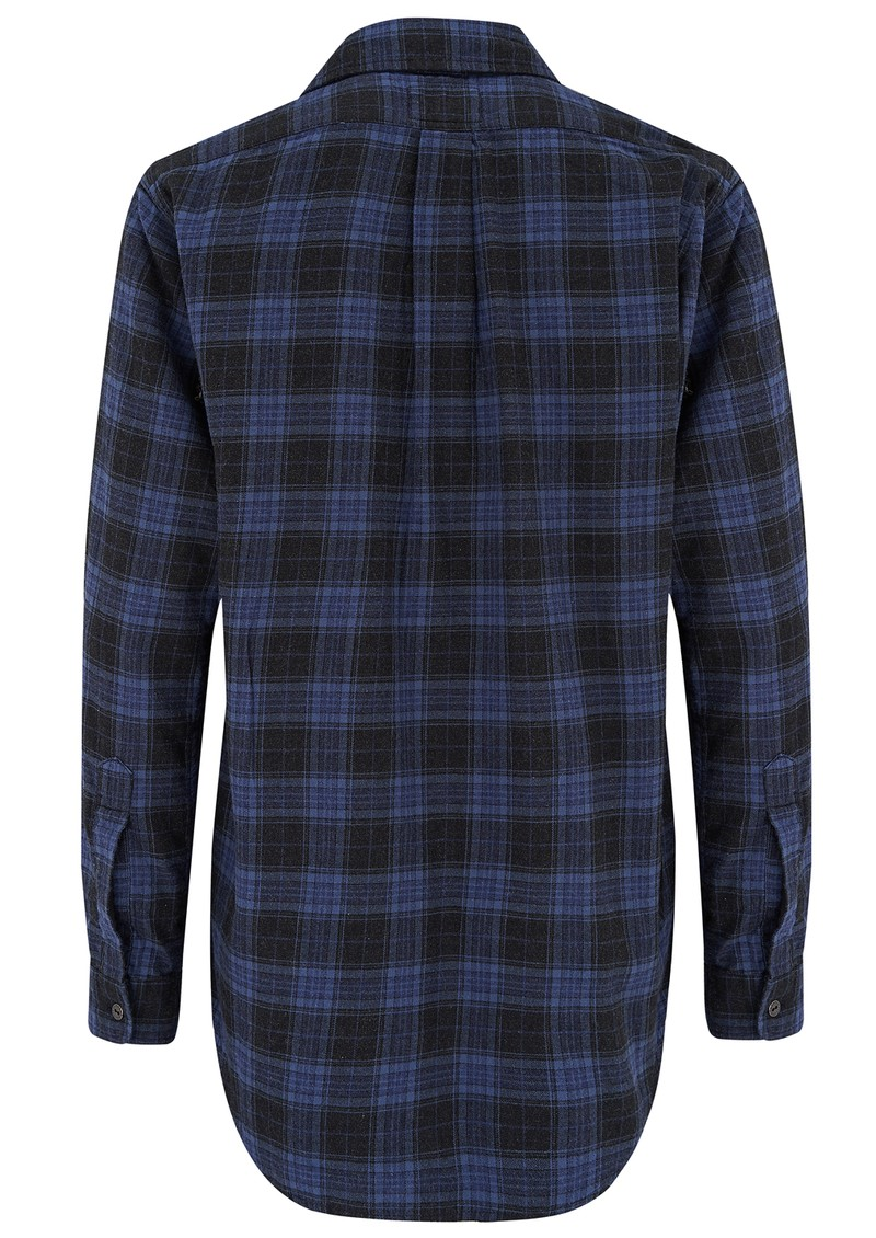 Current/Elliott PREP SCHOOL SHIRT - CABIN PLAID main image