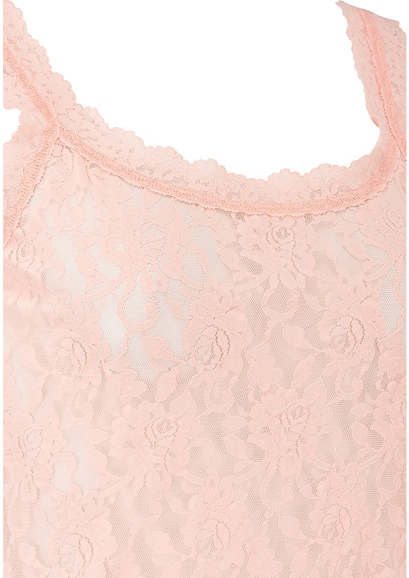 Hanky Panky UNLINED LACE CAMI - ROSEWATER PINK main image