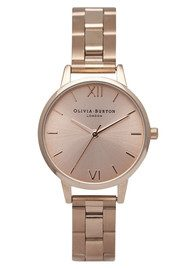 Olivia Burton Midi Dial Bracelet Watch - Rose Gold