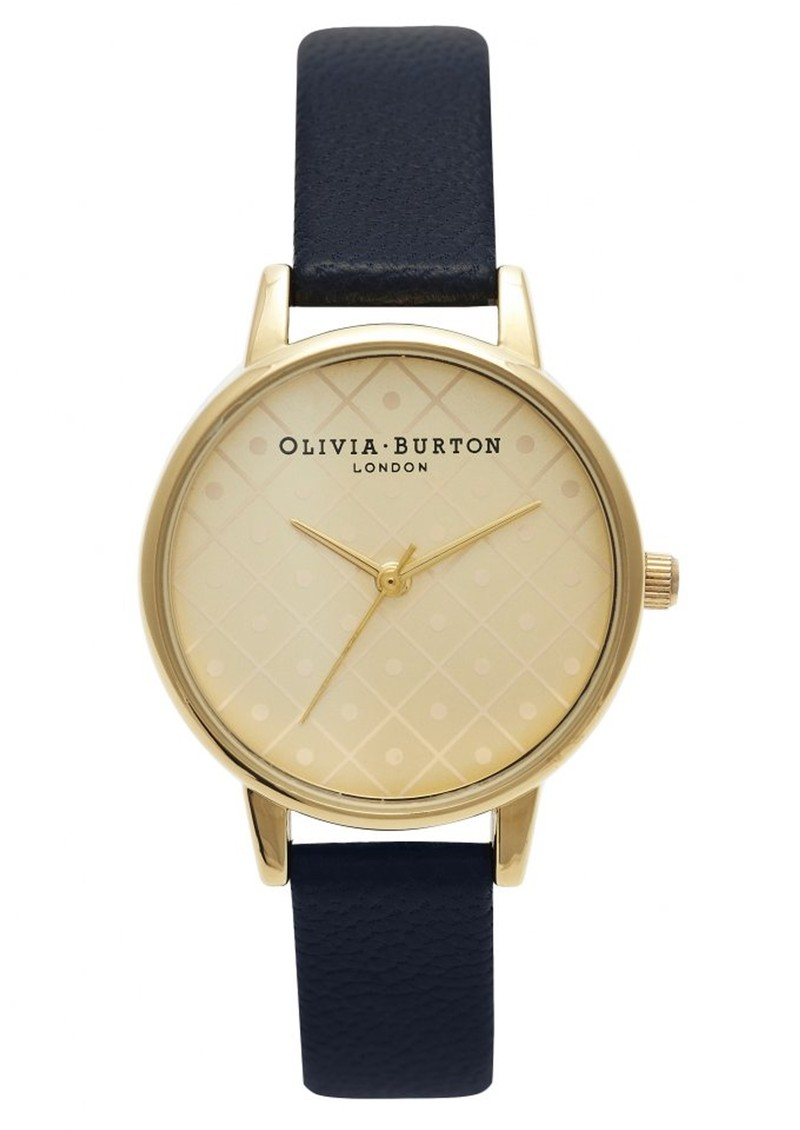 Modern Vintage Watch - Gold & Black main image