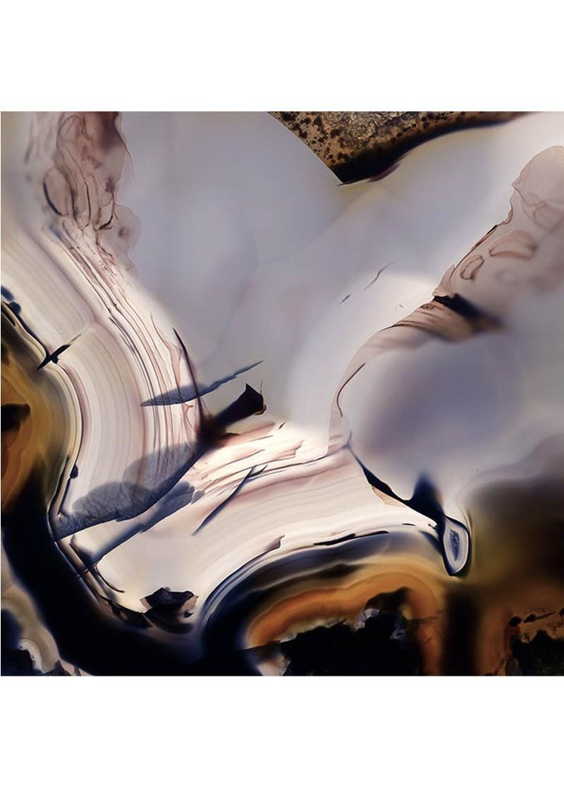 Weston Scarves EMBER AGATE SILK SCARF - PINK / GREY main image