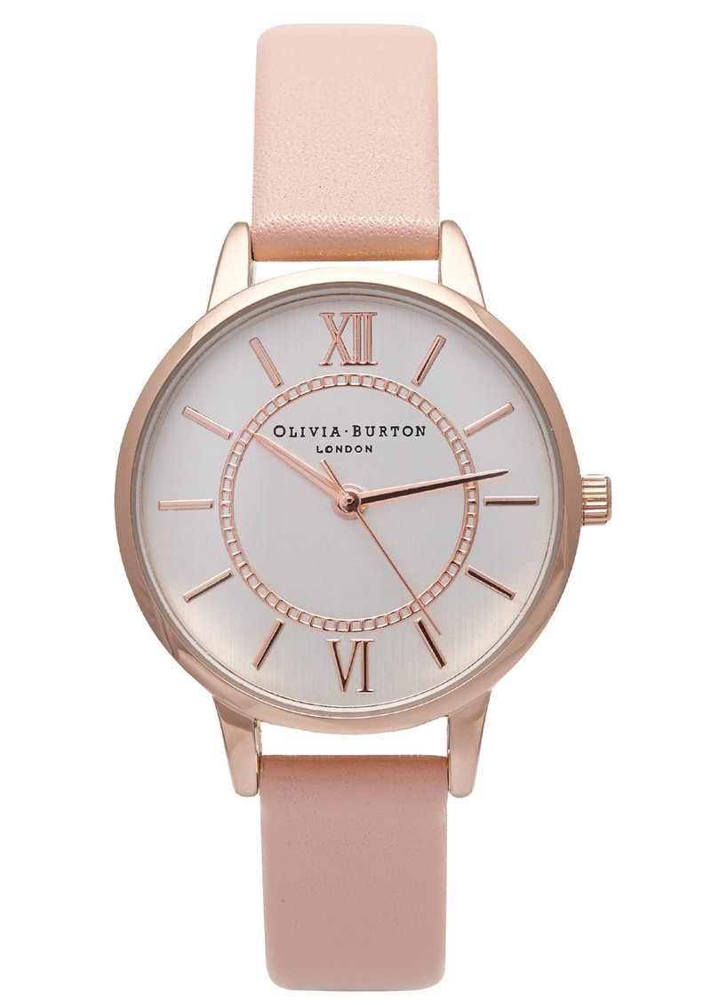WONDERLAND WATCH - MIX ROSE GOLD, SILVER & DUSTY PINK main image