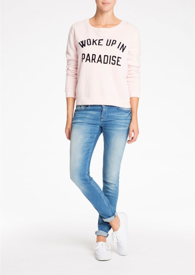 Maison Scotch VINTAGE SUMMER SWEATER - FLAMINGO main image