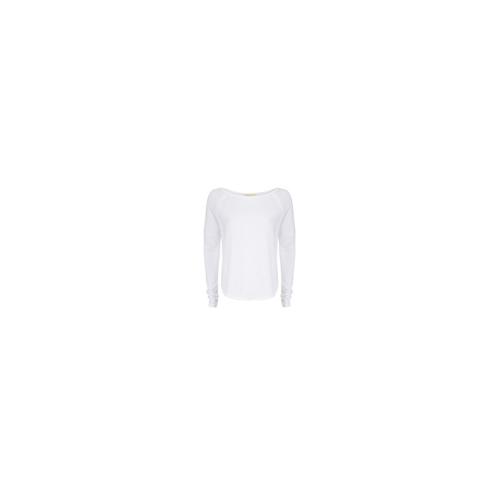 SONOMA LONG SLEEVE TOP - WHITE