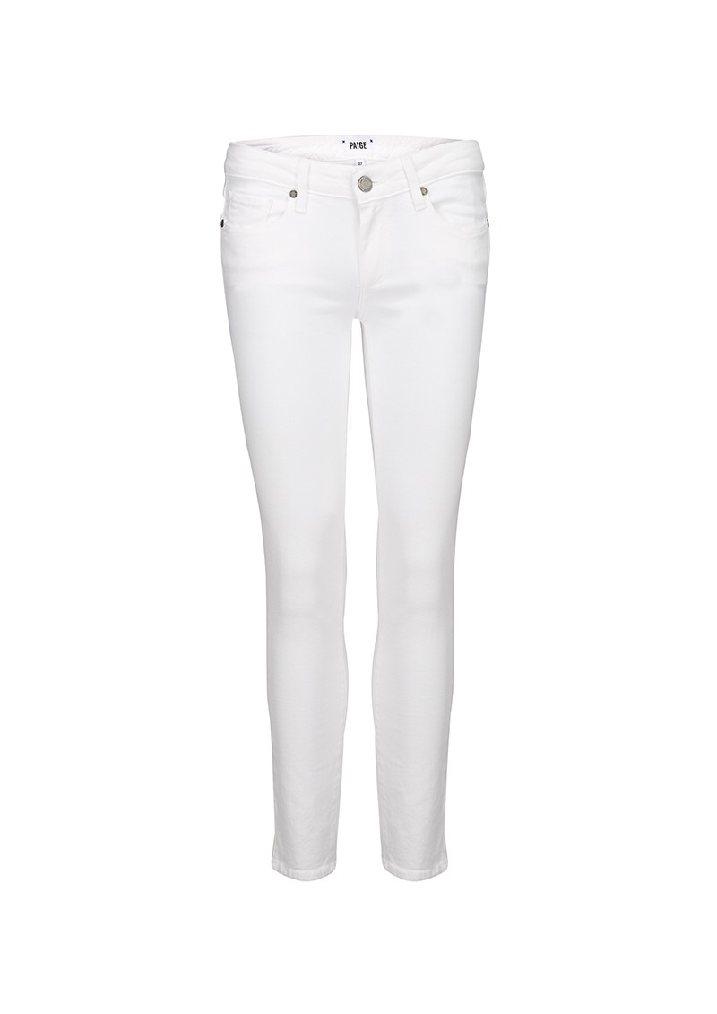 KYLIE CROP JEANS - OPTIC WHITE main image