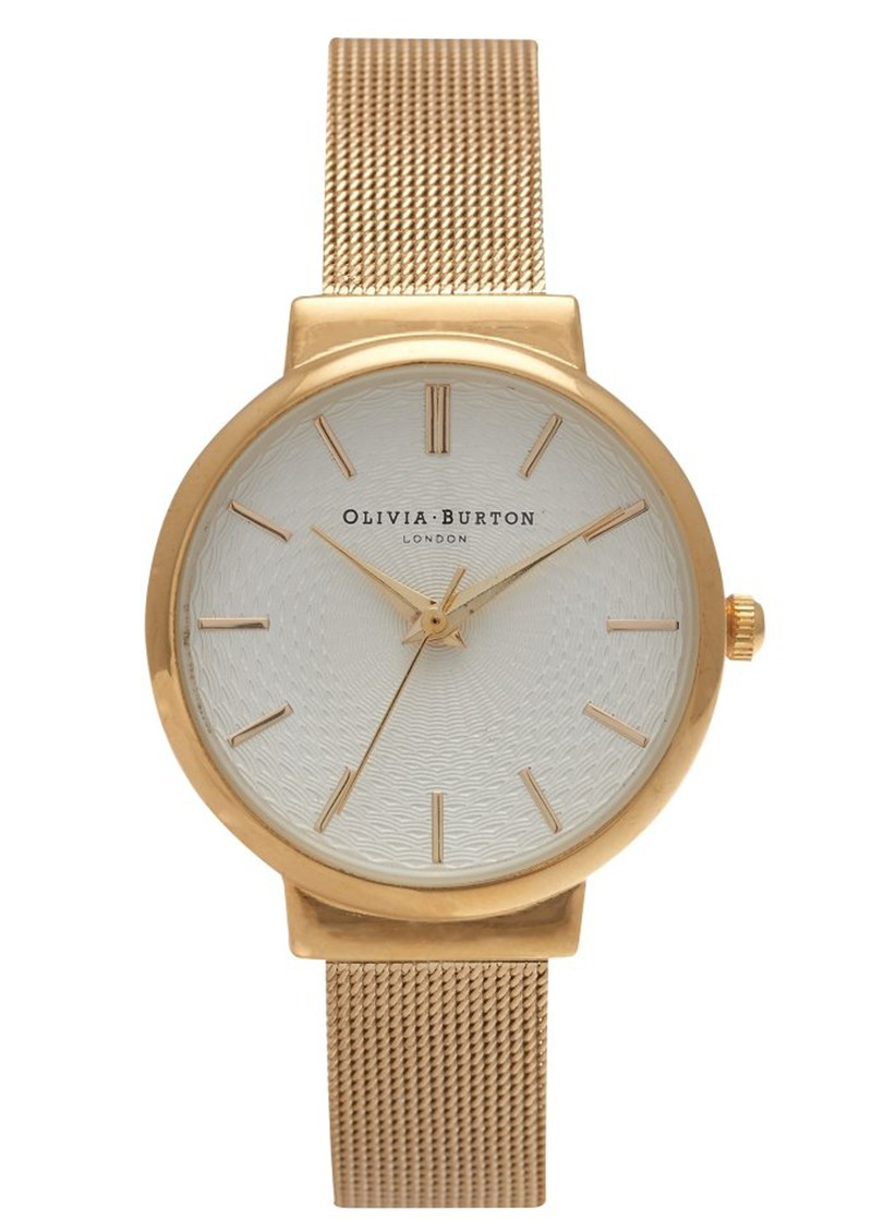Olivia Burton THE HACKNEY MESH WATCH - GOLD main image
