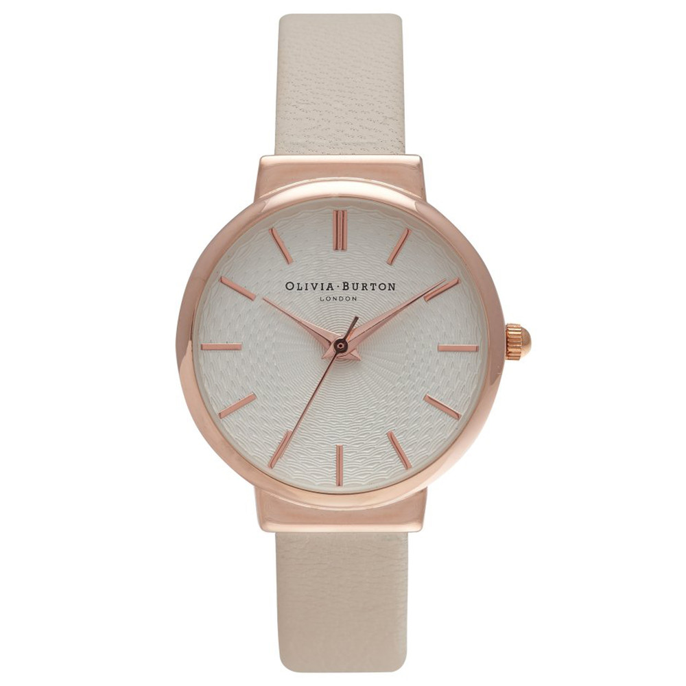 THE HACKNEY WATCH - NUDE & ROSE GOLD