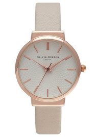 Olivia Burton THE HACKNEY WATCH - NUDE & ROSE GOLD